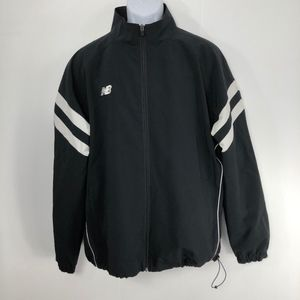 New Balance Warm-Up Jacket Men's L Black